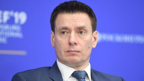 Генеральный директор Российского экспортного центра Андрей Слепнев