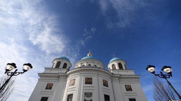 Строительство собора Казанской иконы Божией Матери в городе Казань