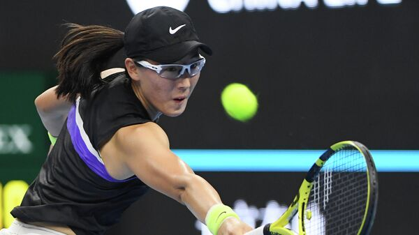 Теннисистка Чжэн Сайсай (Китай)
