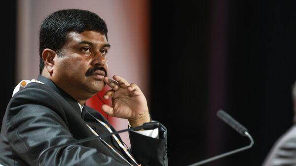 Министр нефти и газа Индии Дхармендра Прадхан