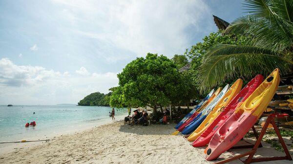 Пляж острова Ко Хе