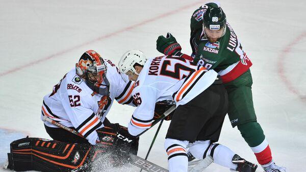 Амур - Ак Барс в матче регулярного чемпионата КХЛ