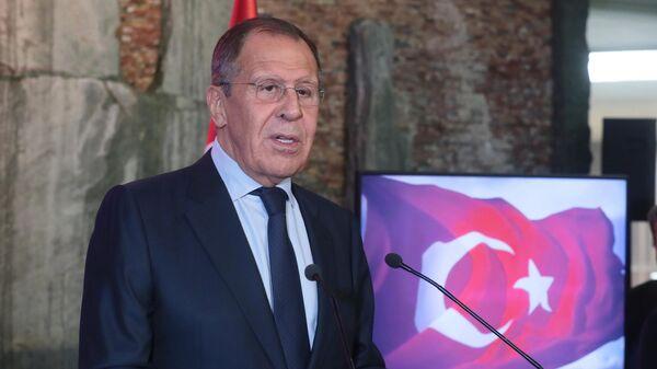 Визит главы МИД РФ С. Лаврова в Швейцарию