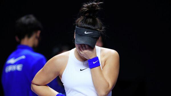 Канадская теннисистка Бьянка Андрееску