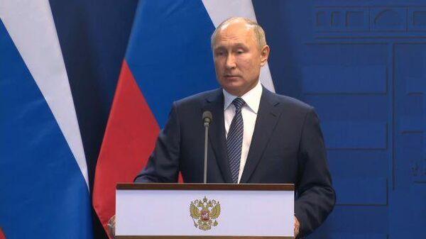 Надо обнулить все требования с обеих сторон: Путин о газовом вопросе на Украине