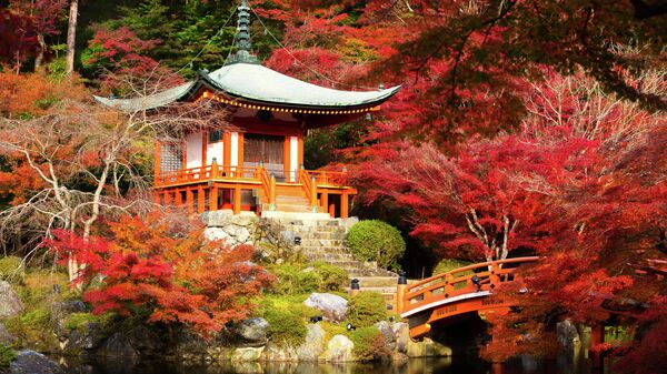 Храм в Киото, Япония