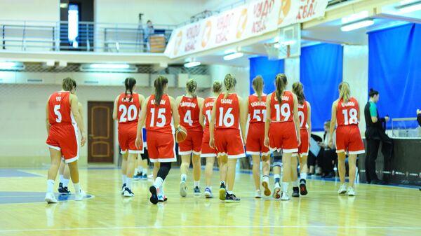 Баскетболистки Надежды