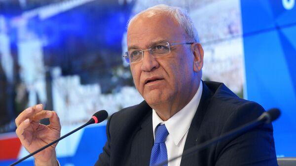 Глава исполкома Организации освобождения Палестины Саиб Орейкат