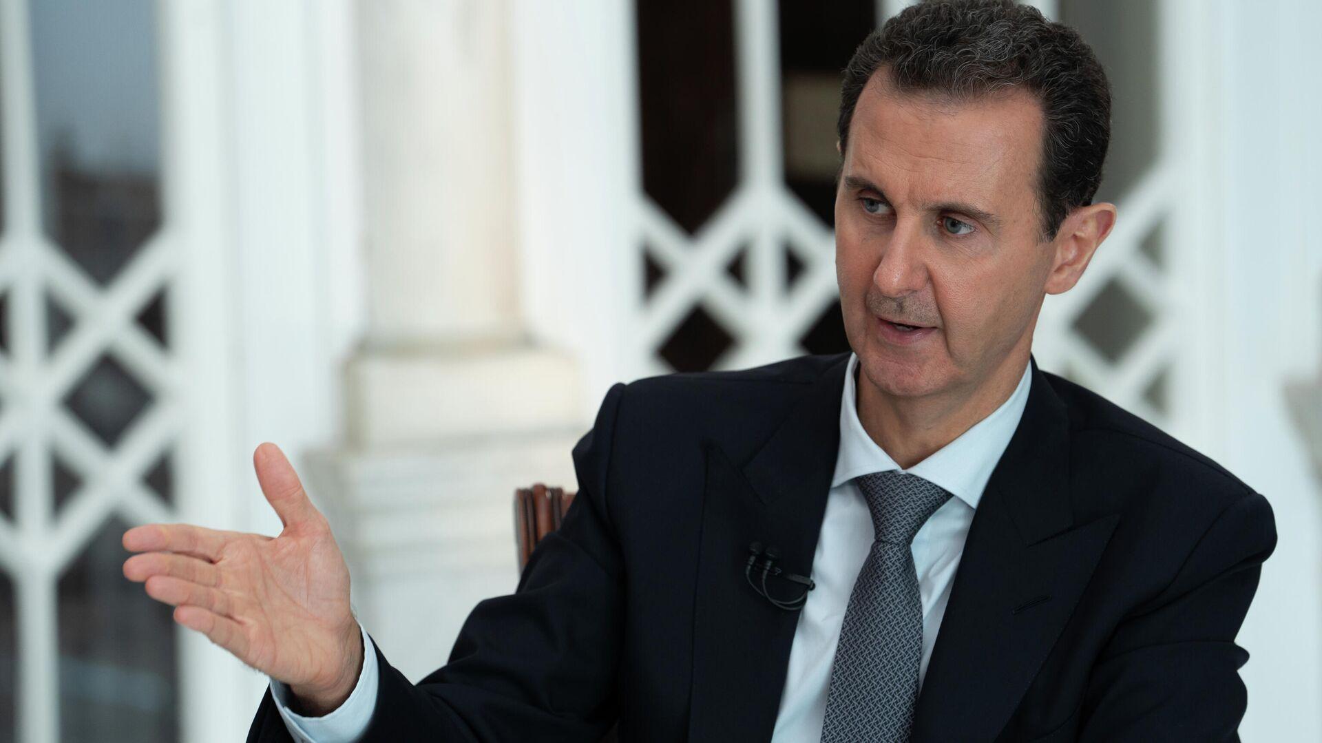 Президент Сирии Башар Асад - РИА Новости, 1920, 30.08.2020