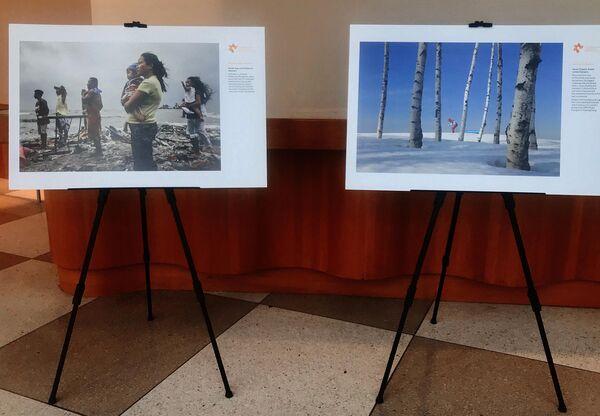 Выставка победителей Международного конкурса фотожурналистики имени Андрея Стенина в Нью-Йорк