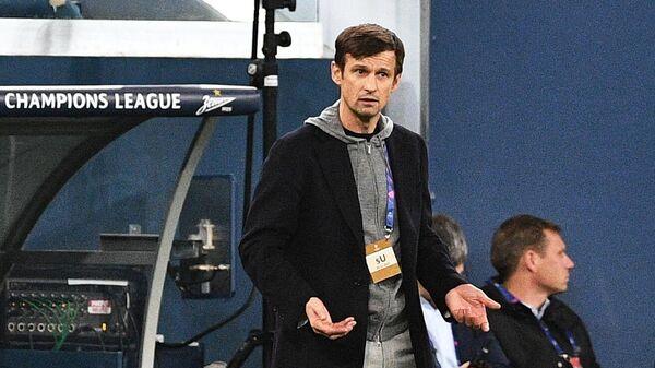 Сергей Семак (слева) и Дуглас Сантос