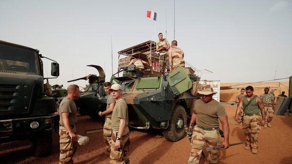 Французские военнослужащие в Мали