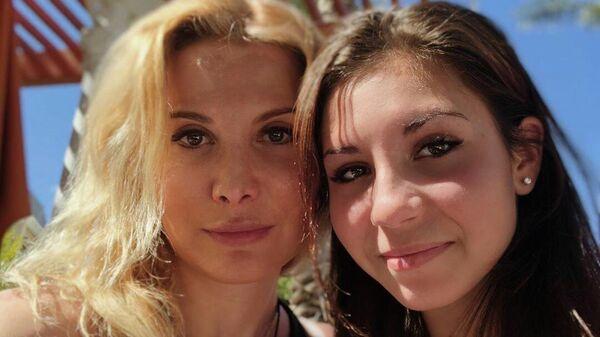 Этери Тутберидзе (слева) и Диана Дэвис