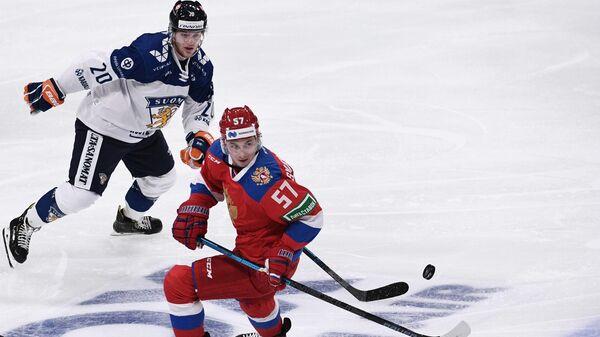 Хоккей. Кубок Карьяла. Матч Россия - Финляндия