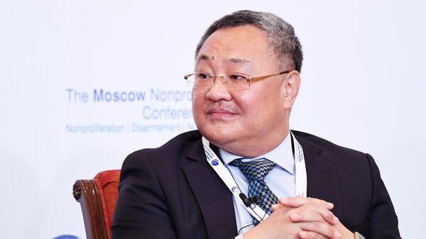 Генеральный директор департамента по вопросам контроля над вооружениями и разоружения, министерства иностранных дел Китая Фу Цун на Московской конференции по нераспространению