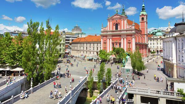 Preseren площадь в Любляне