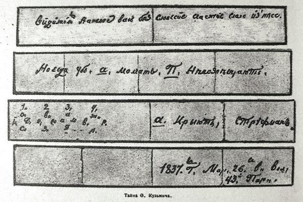 Тайна Федора Кузьмича