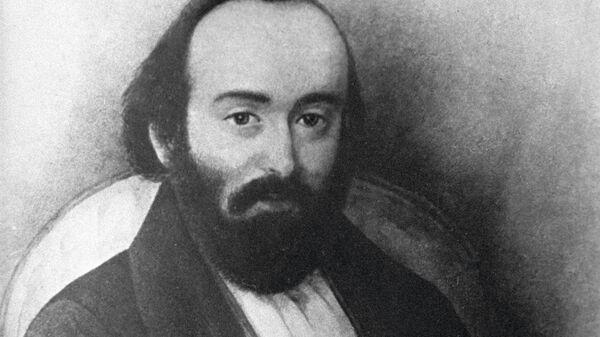 Портрет революционера Михаила Буташевича-Петрашевского (1821-1866 г. г.)