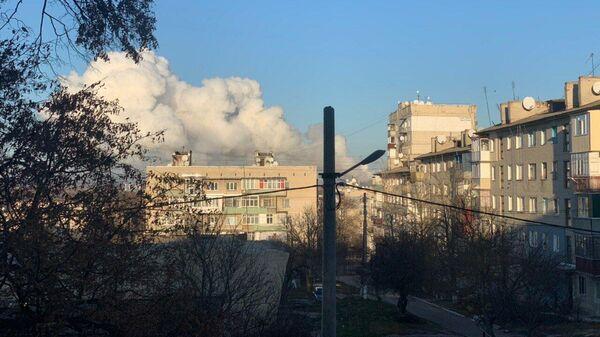 Взрывы в городе Балаклея Харьковской области
