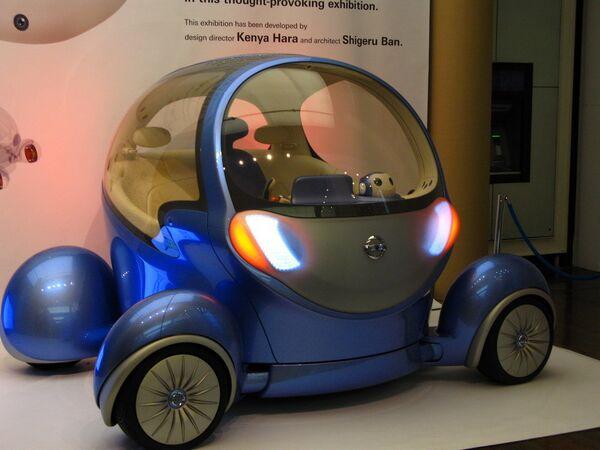 Nissan представил публике уникальный электромобиль - газета