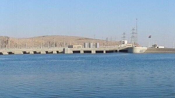 Тишринская ГЭС на Евфрате