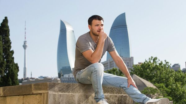 Эмин Агаларов в Баку