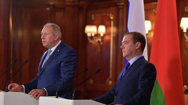 Заседание Совета министров Союзного государства России и Белоруссии