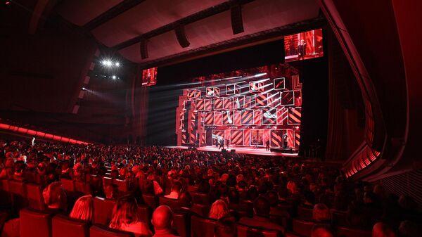 Церемония вручения национальной музыкальной премии Золотой Граммофон