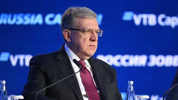Председатель Счетной палаты РФ Алексей Кудрин на 11-м ежегодном инвестиционном форуме ВТБ Капитал Россия зовёт!