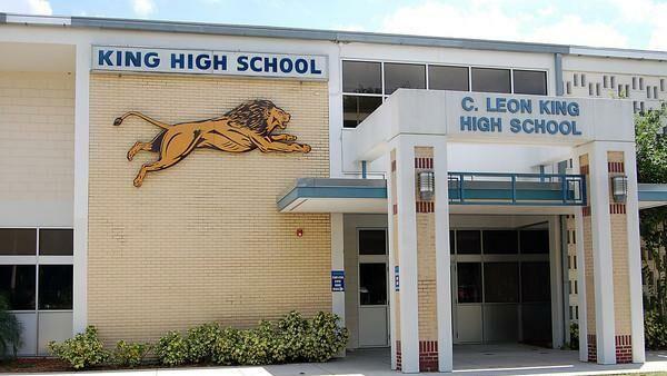 King High School в американском городе Тампа, штат Флорида