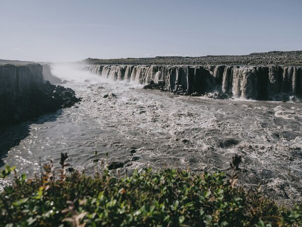 Водопад Деттифосс в Исландии