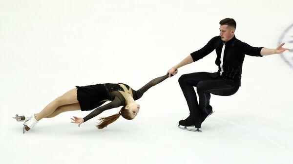 Фигуристы Анастасия Мишина и Александр Галлямов (Россия)