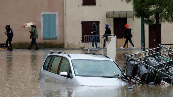 Последствия сильных дождей во Франции. 24 ноября 2019