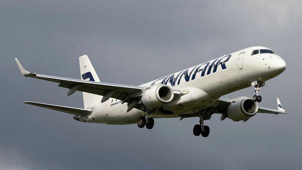 Самолет Embraer ERJ-190LR авиакомпании Finnair