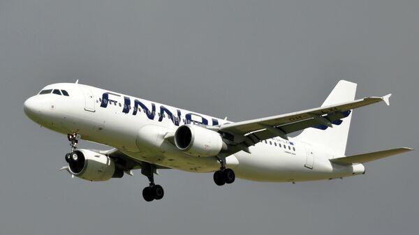 Самолет Airbus A320 авиакомпании Finnair
