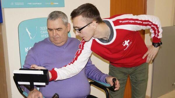 Мобильный кардиограф в поликлинике №6 в Южно-Сахалинске