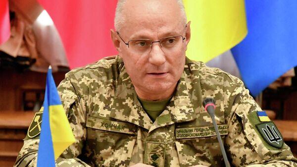 Начальник Генерального штаба - Главнокомандующий ВСУ генерал-лейтенант Руслан Хомчак