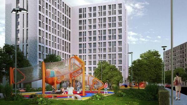 Проект дома реновации в Можайском районе Москвы