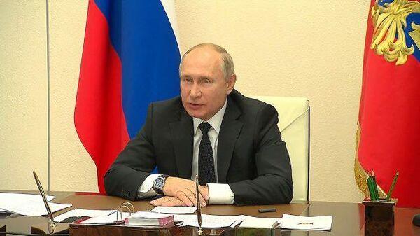 Путин посоветовал школьникам тщательнее подходить к выбору профессии