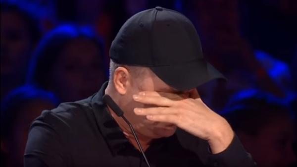 Данилко со слезами на глазах покинул студию шоу X-фактор