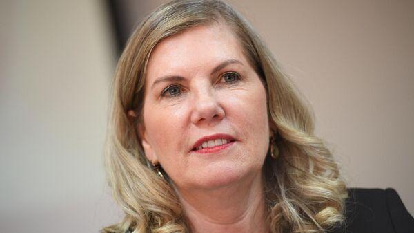 Президент Международной организации виноградарства и виноделия Регина Вандерлинде