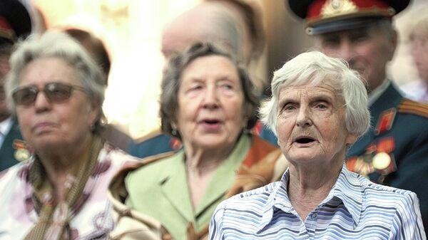 Участники общественно-патриотической акции, посвященной Дню памяти и скорби