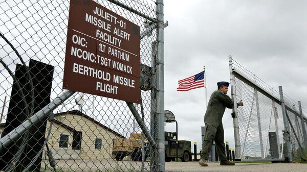 Объект управления запуском межконтинентальных баллистических ракет в штате Северная Дакота