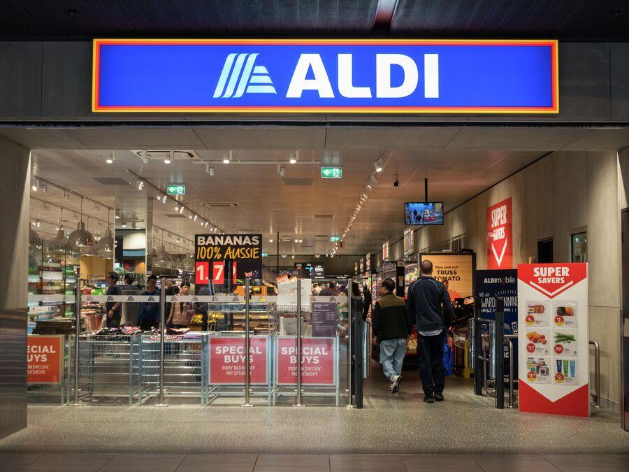 Супермаркет ALDI в Глен Уэверли