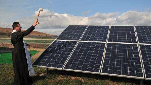 Ветряная и солнечная электростанции во Львовской области