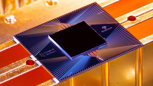 Процессор квантового компьютера Sycamore