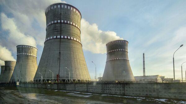 Ровенская атомная электростанция на Украине