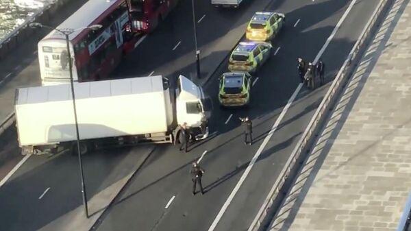 Полиция на мосту в Лондоне. 29 ноября 2019