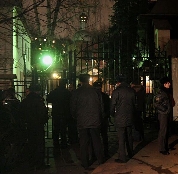 В храме Николая Чудотворца на юге Москвы взорвалось самодельное устройство