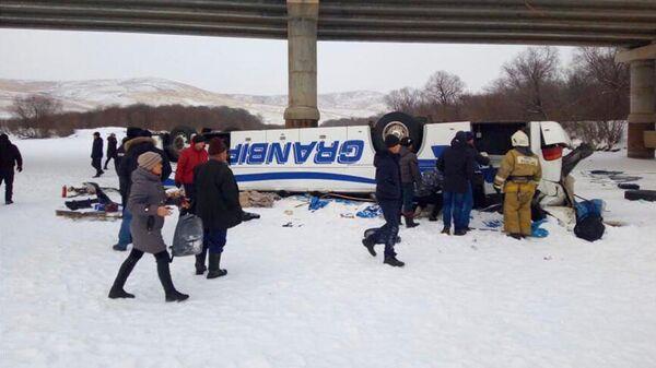 ДТП с участием автобуса в Забайкальском крае